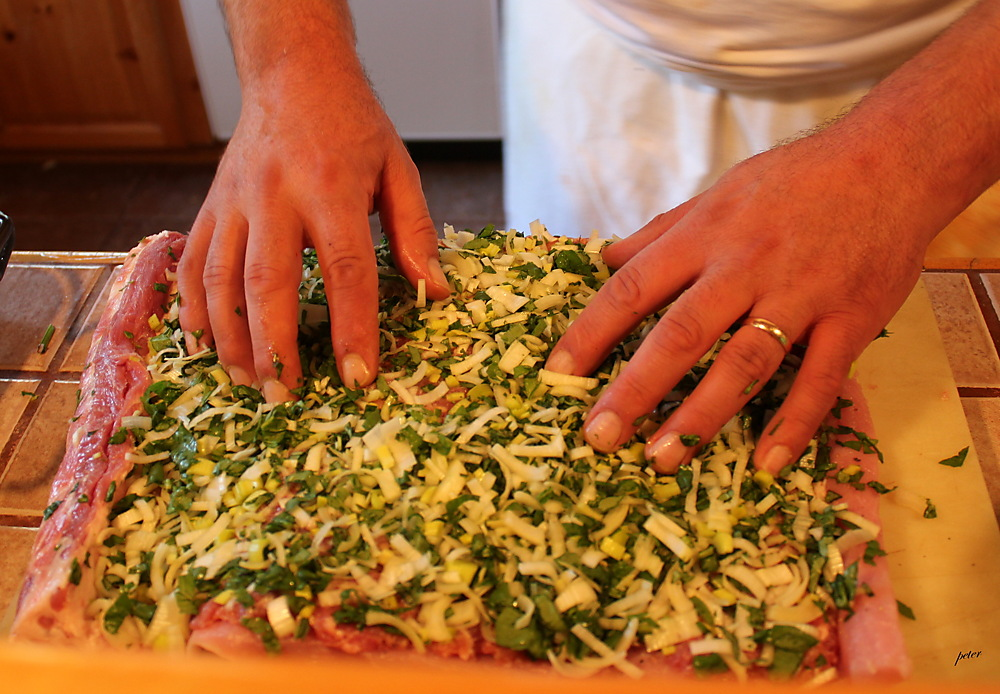 photoblog image The Preperation... Piatto Principale... The Main Course