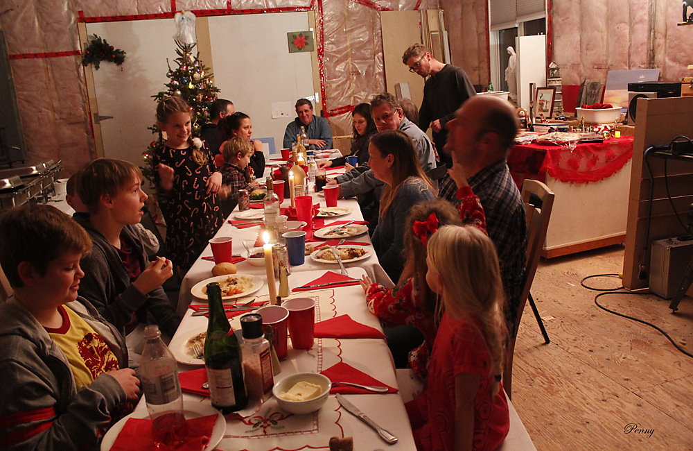 photoblog image Our Christmas Family Feast... Sudbury 2017
