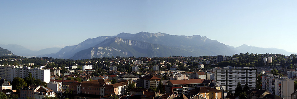 photoblog image City of Voiron (Isère) The Chamechaude Mountains