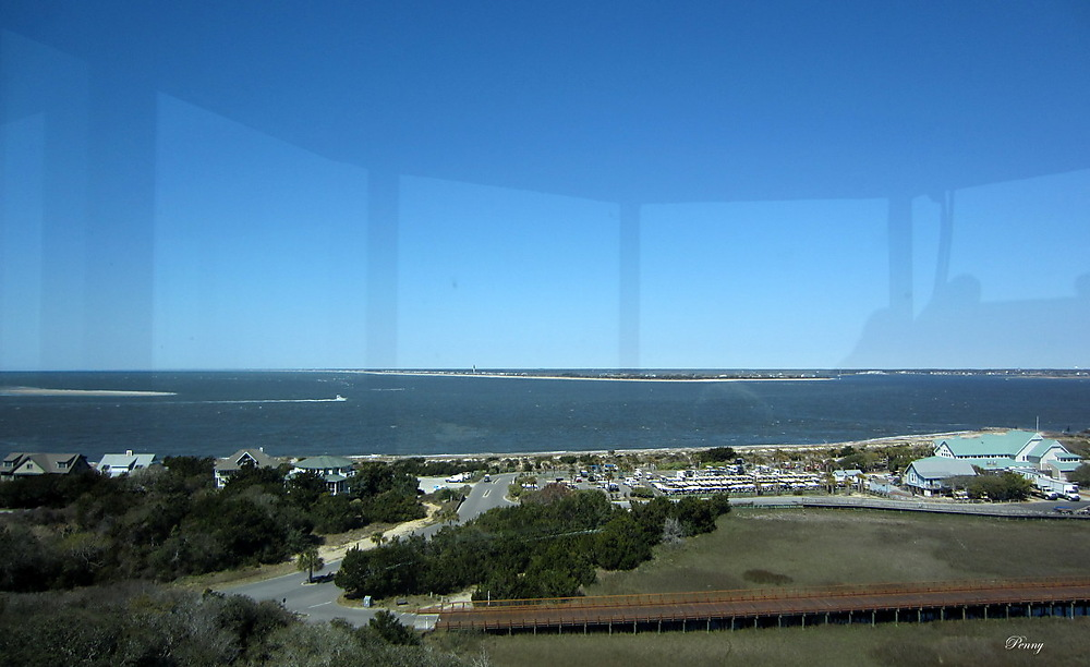 photoblog image The View From the Top of Old Baldy Lighthouse