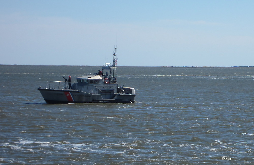photoblog image US Coast Guard... They'll All Business