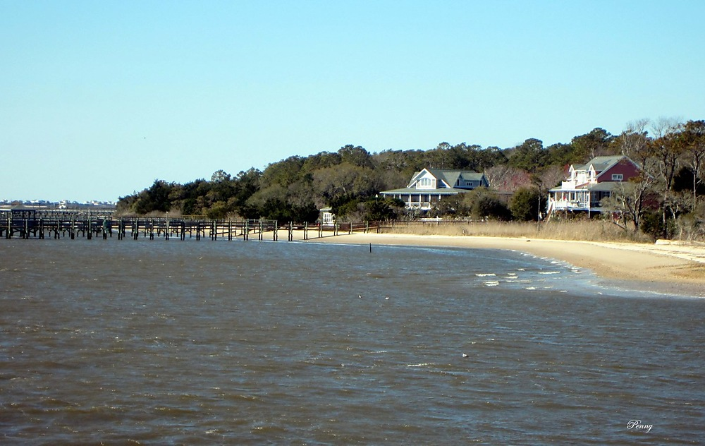 photoblog image Back to Oak Island Beach and Pier... North Carolina