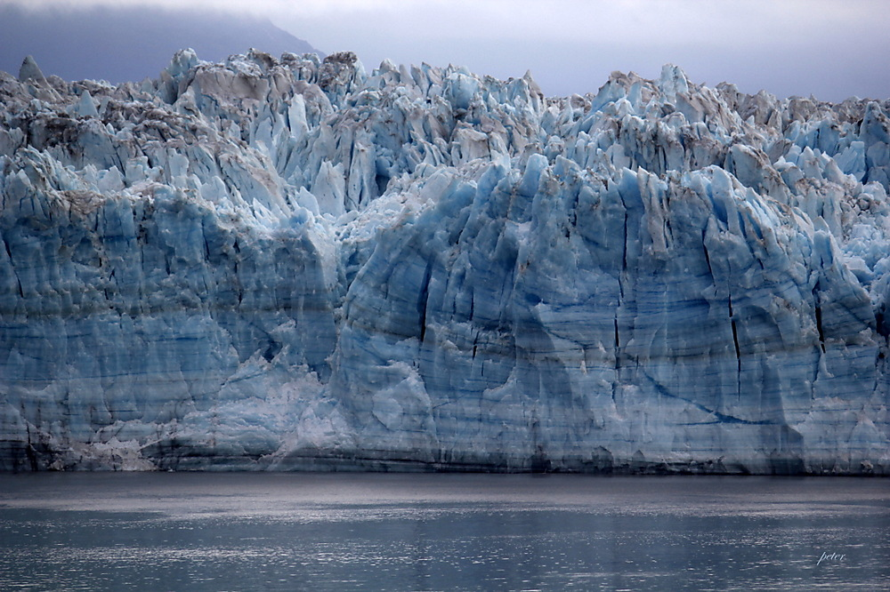 photoblog image Hubbard Glacier Up Close