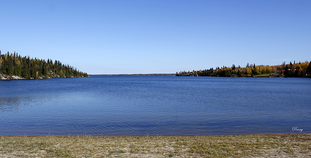 photoblog image Remi Lake From the Beach at Ouellette Bay
