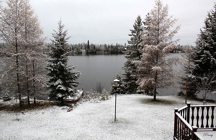 The First Snowfall At Remi Lake October 29, 2019